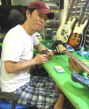 Arion guitar research 代表就職  林 均 澤